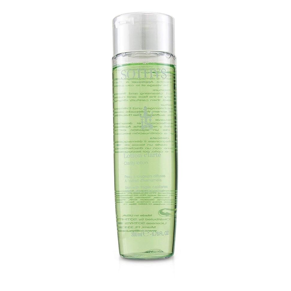 牽引バスデータSothys Clarity Lotion - For Skin With Fragile Capillaries, With Witch Hazel Extract 200ml/6.76oz並行輸入品
