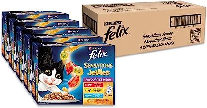 Felix Sensations Jellies - Favourites Menu, Adult, 60x85g