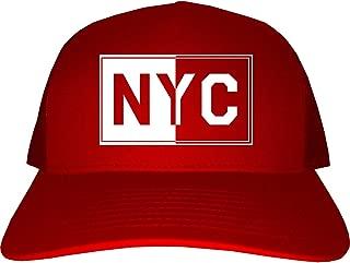 Kings Of NY NYC Rectangle York City Mens Trucker Hat Cap