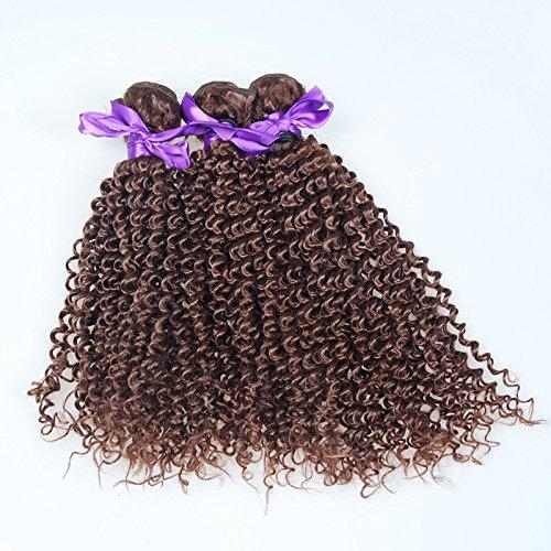 Petites Boucles Cheveux Love véritable Noir Rideau Inde Malaisie Pérou Abat-jour cheveux 100% cheveux véritables