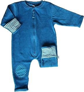 Leela Cotton Baby Fleece-Wendeoverall aus Reiner Bio-Baumwolle