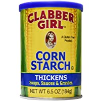 Deals on Clabber Girl Corn Starch, 6.5 Ounce