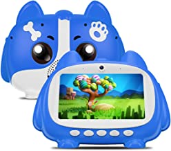 Kids Tablet, 7 inch Android Tablet for Kids, Children Tablet with Learning & Training Games WiFi Google Play Parental Control Eye Protection IPS Display, Great Gift for Boys Girls