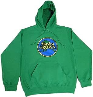 Arctic Circle Enterprises Alaska Grown Applique Irish Green Hoodie Sweatshirt Adult Sizes