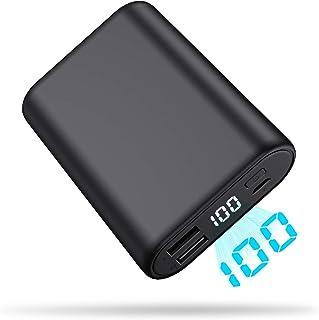 モバイルバッテリー 軽量 急速充電 大容量 16800mAh 【PSE認証済】 2USB出力ポート LCD残量表示 小型 携帯充電器 スマホ/タブレット/ゲーム機など対応 バッテリー