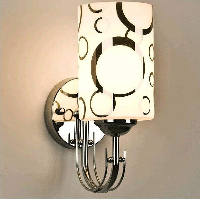 Oudan Lounge Das Schlafzimmer Nachttischlampe Walking Corridor Lights Hotelzimmer Wandleuchte (3-W-Lampe) (Farbe  Know-26  10 cm). (Farbe   Weiß-26  10cm)