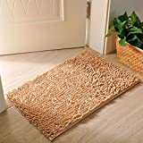 Ramcha Luxury Anti Slip Chenille Bathroom Rug Mat, Extra Soft and Absorbent Shaggy