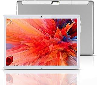 Tablet 10 Pulgadas, Fire HD 10.1 Tablets PC( Android 8.1, 3G, WiFi, Octa Core, 4 GB de RAM, 64 GB de ROM, GPS, Dual SIM Ca...