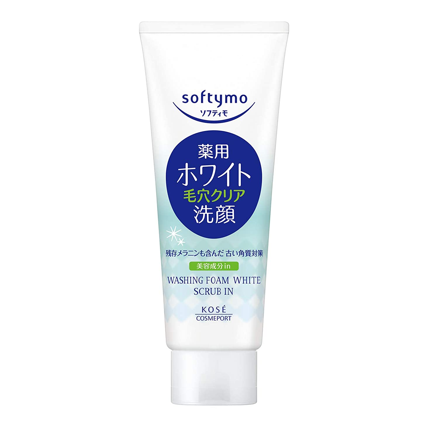 応じる嘆願湿度KOSE ソフティモ 薬用洗顔フォーム(ホワイト)スクラブイン【医薬部外品】