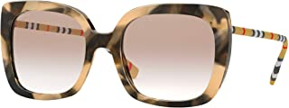 Burberry CAROLL BE 4323 Spotted Horn/Light Brown Shaded 54/20/140 women Sunglasses