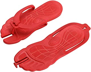 Voberry Couple Summer Beach Flip Flops Beach Anti-Slip Casual Shoes Home Slippers Shoes