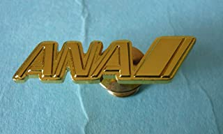 ANA ゴールド ロゴピン 全日空 スラッシュ スターアライアンス