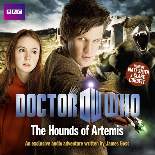 Doctor Who: The Hounds of Artemis audiobook cover art