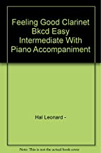 Feeling Good Clarinet Bkcd Easy Intermediate With Piano Accompaniment