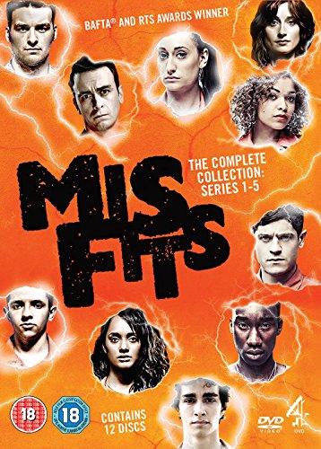 Misfits: Series 1-5 [DVD] [Reino Unido]