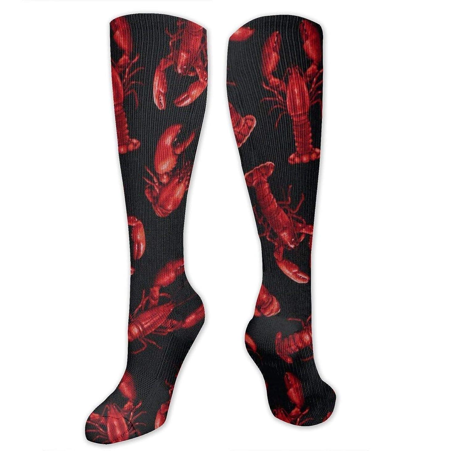 強いますポルノ凍った靴下,ストッキング,野生のジョーカー,実際,秋の本質,冬必須,サマーウェア&RBXAA Women's Winter Cotton Long Tube Socks Knee High Graduated Compression Socks Lobster Claws Socks