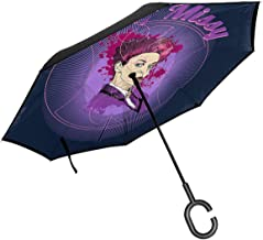 Hey Missy The Mistress Doctor Who Double Layer Inverted Umbrella For Car Reverse Folding Upside Down C-Shaped Hands - Lightweight & Windproof – Ideal Gift