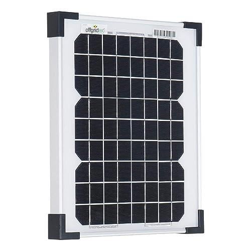 Offgridtec 10 W panel solar fotovoltaico, 3-01-001265