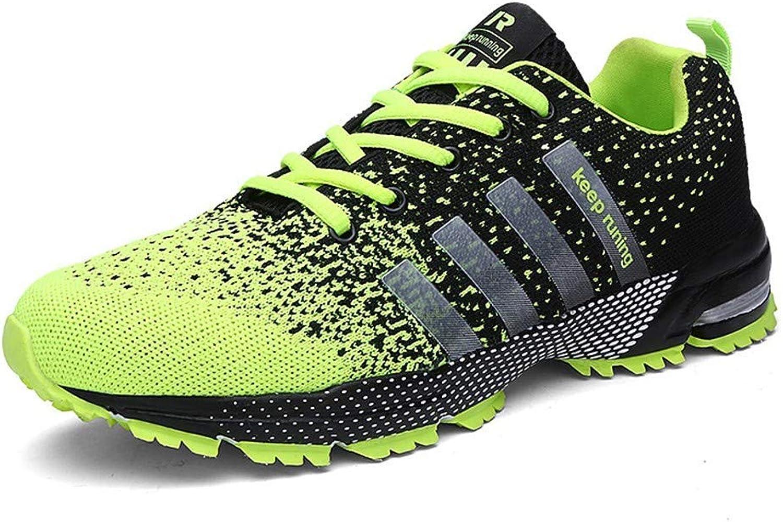 DKx DKx DKx Hiking skor män springaning skor Jogging män skor maska Sport skor, gul, 8.5UK  Vi erbjuder olika kända varumärken