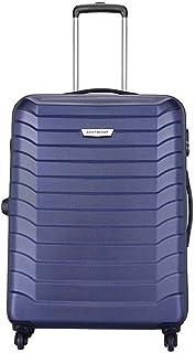 Aristocrat Juke Polycarbonate 65 cms Blue Hard Sided Suitcase (JUKE65TMIB)