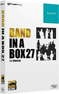 PGmusic Band in a Box 27 Windows版 BasicPAK バンドインアボックス 自動作曲ソフト PGミュージック