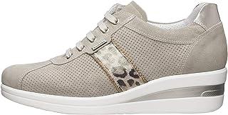 NeroGiardini E010450D Sneaker Donna Camoscio/Pelle