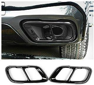 PeroFors Auto Interna Specchietto Retrovisore Shell Bandiera Uk Per Bmw Mini Cooper F55 F56 F54 F60 Versione High-End-Nero Grigio