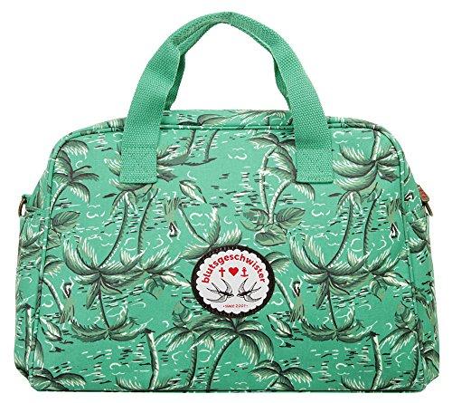 Blutsgeschwister Handtasche DOLCE VITA Baumwolle türkis Damen - 019052
