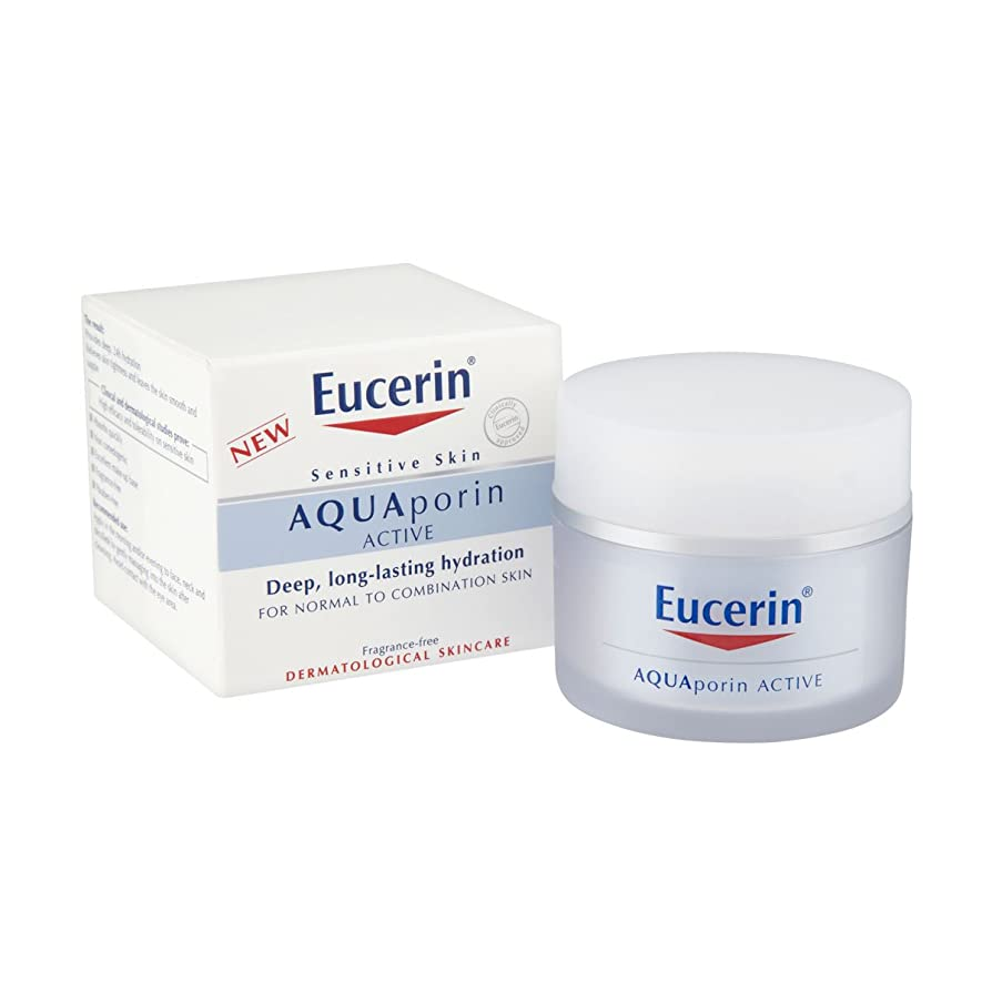 代数スパイラル脅威Eucerin Aquaporin Active Normal To Combination Skin 50ml [並行輸入品]