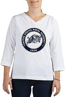 US Naval Academy Crew - Women's Cotton Baseball Jersey, 3/4 Raglan Sleeve Shirt
