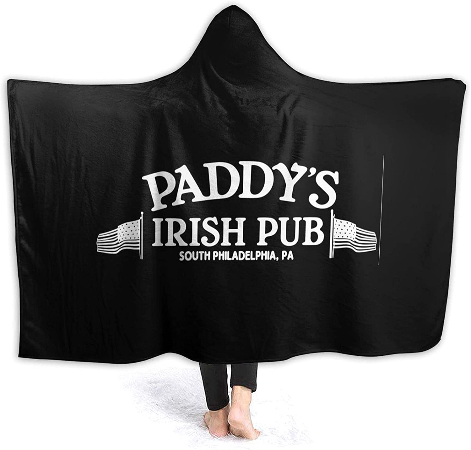 Hooded Blanket Poncho Sale special price All items in the store Paddy's Irish Soft Fleece Flannel Cozy Pub