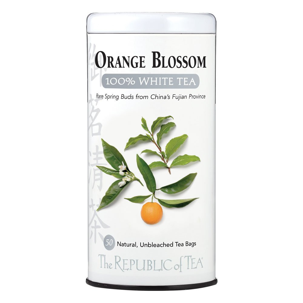 The Raleigh Mall Republic of Tea 50-Count Blossom Orange White Animer and price revision