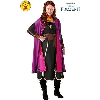 Rubies - Disfraz oficial de Disney Frozen 2, vestido de lujo de ...