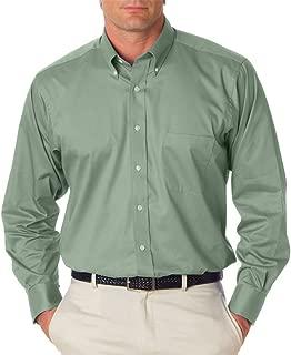 Van Heusen Men's Long Sleeve Relaxed Twill Dress Shirt