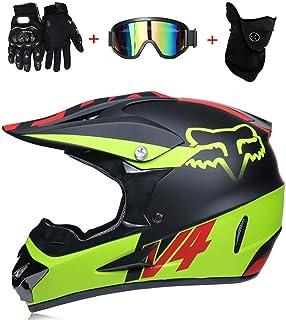 AA-Helmet TOKU Doble Deporte ATV Casco de Motocross D.O.T Casco de Seguridad de Bajada