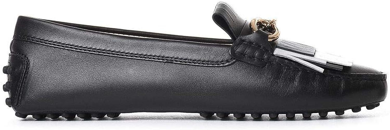 Tod's Woherrar XXW0FW0S870G4V0Z11 XXW0FW0S870G4V0Z11 XXW0FW0S870G4V0Z11 svart läder Loafers  förstklassig kvalitet