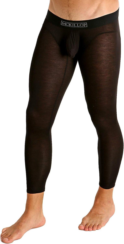 Mckillop Hoist Modal Long Johns Black