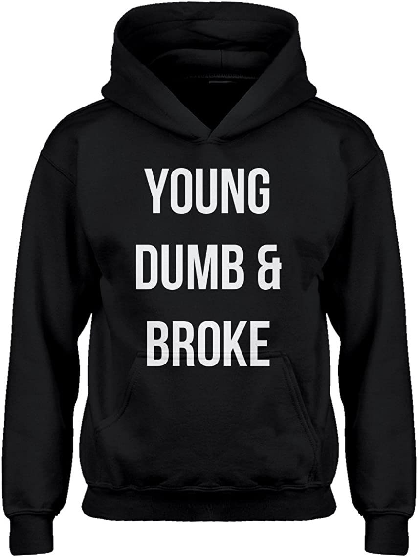 Young Dumb & Broke Hoodie for Kids