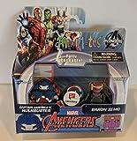 Minimates Marvel Baron Zemo Capitán América Hulkbuster Walgreens Minifiguras Series 7