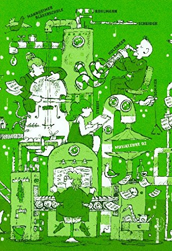 Mannheimer Bläserschule - Musiklehre D2 (+3 CD's)