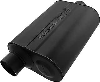 Flowmaster 952546 Super 40 Muffler - 2.50 Offset IN / 2.50 Center OUT - Aggressive Sound