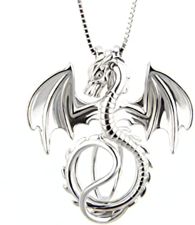 925 Sterling Silver Dragon Pendants for Pearl, Pearl Cage...