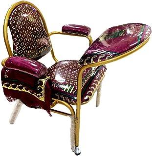 كرسي صلاة للمسلمين بلون عنابي