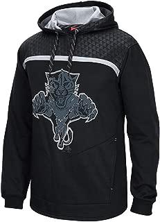 adidas Florida Panthers Reebok Cross Check Primary Logo Black Pullover Hoodie Men's
