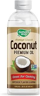 Nature's Way Premium Coconut Pure Oil NON-GMO coconuts 20 Fl. Oz.