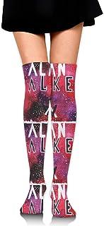 ロングフルレングスソックス Alan Walker ソックス、ロングソックス、ショートスカート、ハイヒール、スニーカーと組み合わせることができます