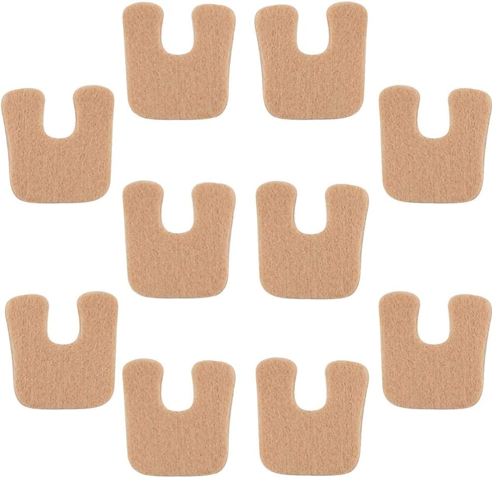 EXCEART 5 Pairs Callus Pads Cushions Be super Max 82% OFF welcome Soft Toe Foam f