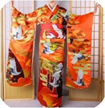 National Japanese Kimono Women Classic Stage Performance Costume Traditional Evening Dress D9010