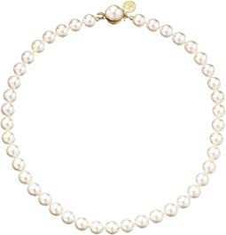 1 Row 8mm Pearl Necklace