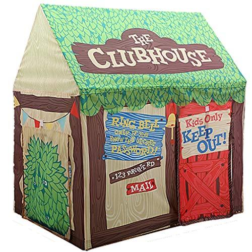 CSQ Living Sala de Juegos Tiendas de campaña, Tienda de la Caja de almacenaje del Juguete del Juego del hogar Casa niños montaron Multifuncional Game House Casa de Juegos para niños